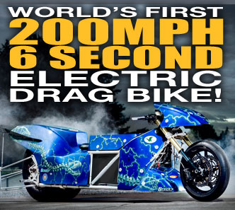 Worlds first 200 mph ELECTRIC Motorcycle